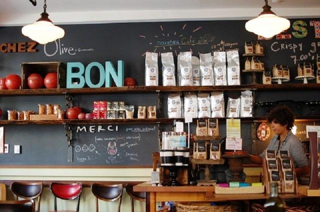 Café Olive & Gourmando au vieux port de Montréal