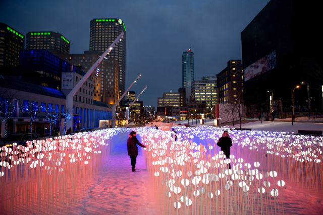 Montreal nuit blanche 2014