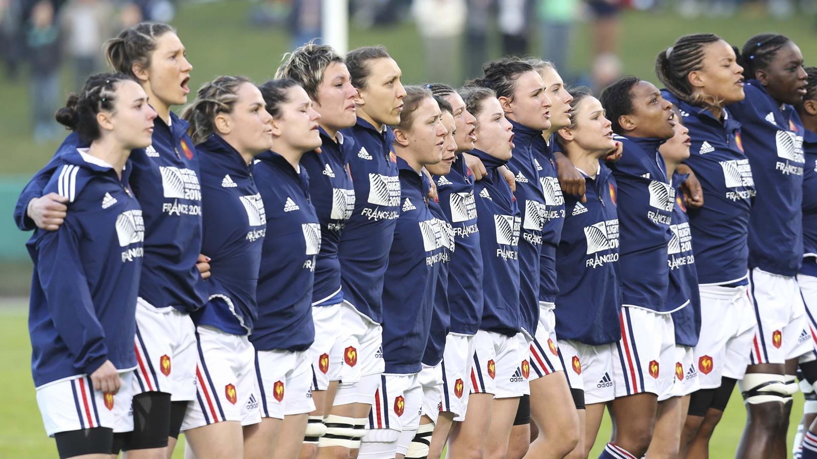 foto de Coupe du monde de rugby féminin : France#Canada presentement