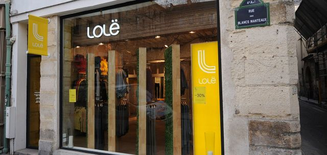 Lole boutique @ Paris
